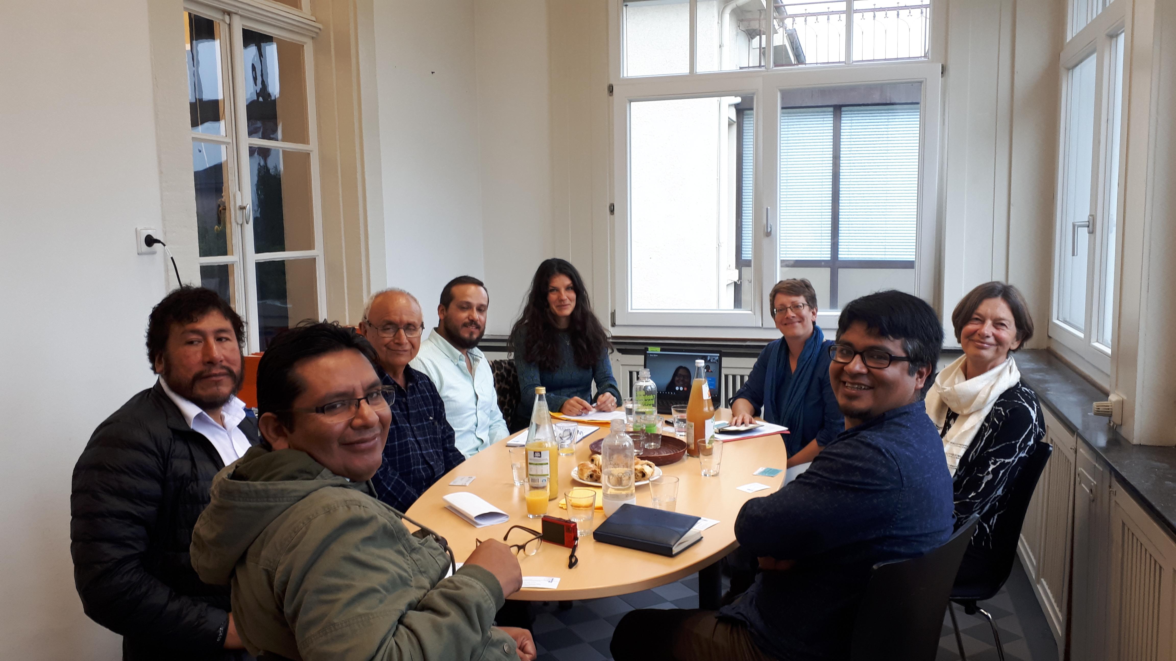 Besuch aus Peru zur Vorbereitung einer Kommunalen Klimapartnerschaft  Freiburg – Megantoni Peru