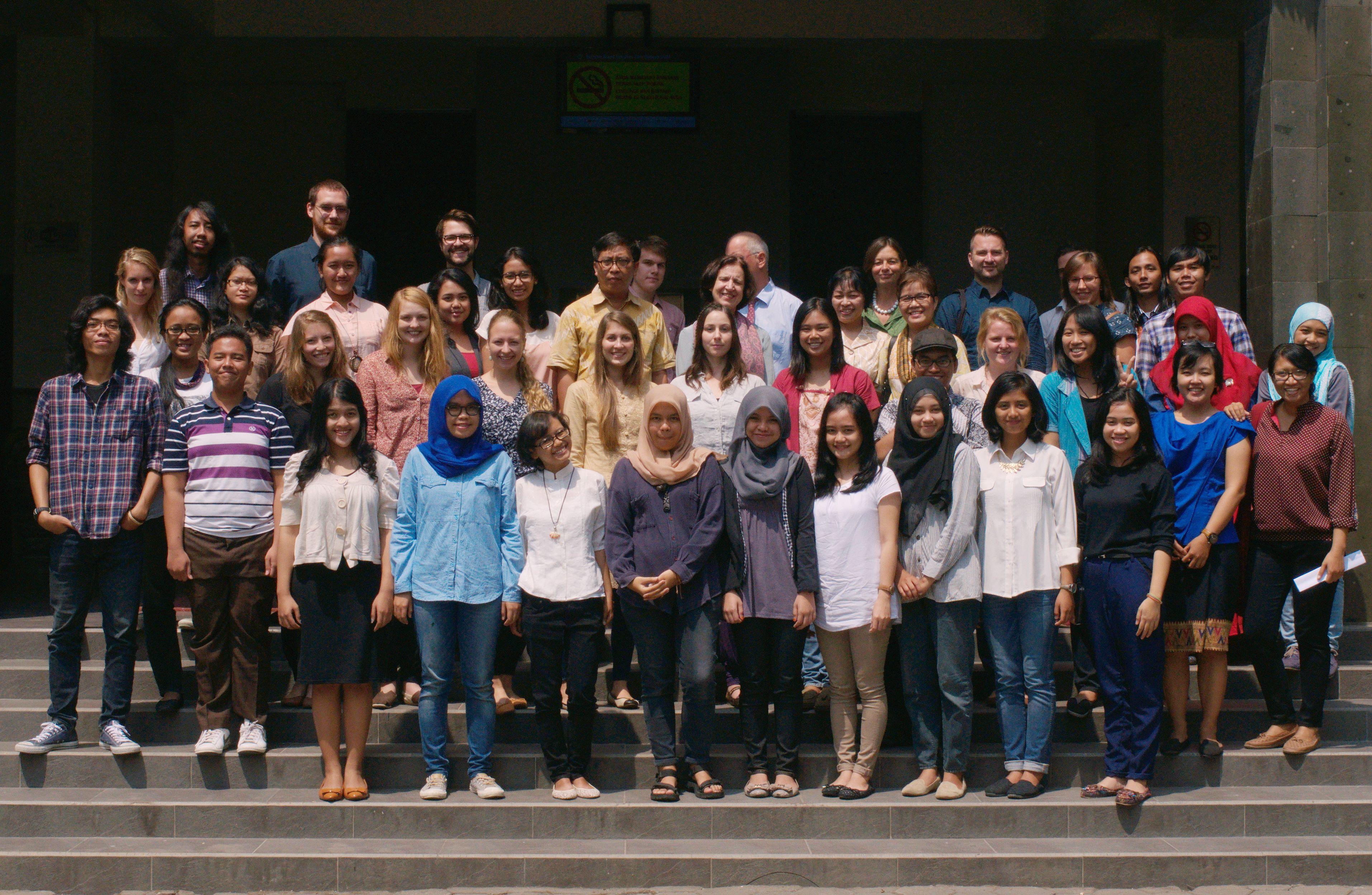Gruppenbild Yogyakarta 2014