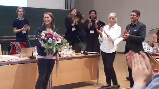 Dissertationspreis für Mirjam Lücking